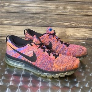 Men's Nike Flyknit Max Running Sneakers